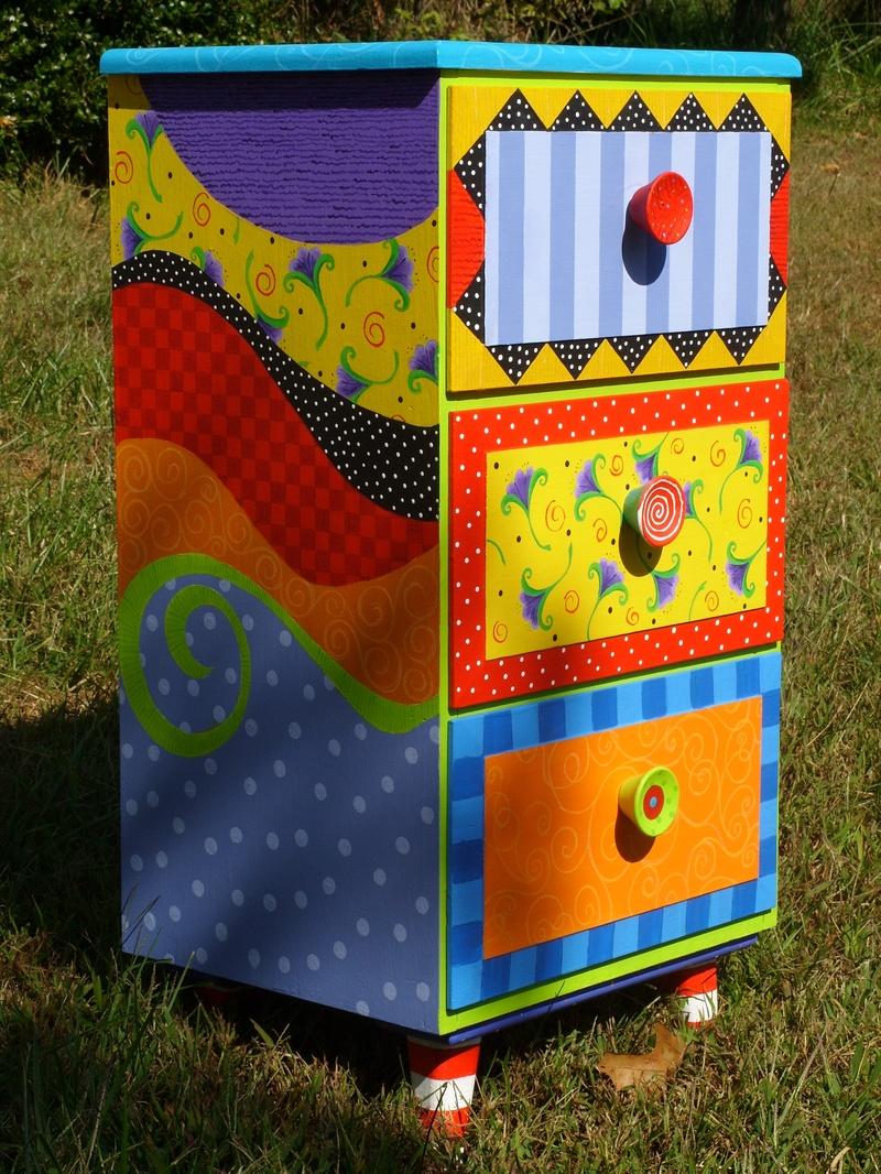 Hand Painted Dresser Designs